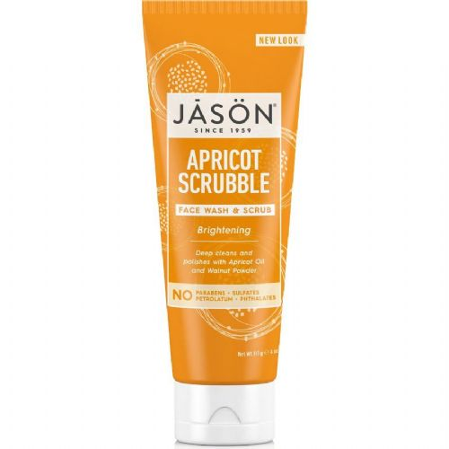Jasons Natural Organic Apricot Wash & Scrub